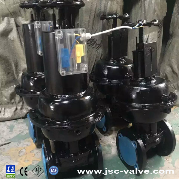 Pneumatic Rubber Lined Diaphragm Valve