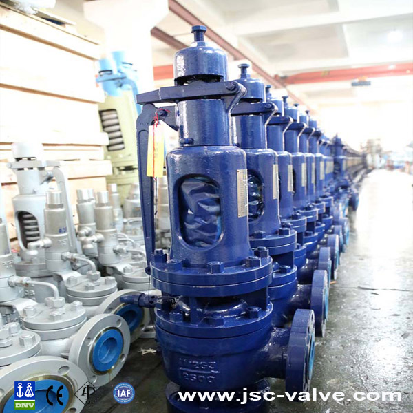 Full lift safety valve